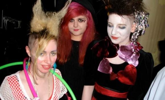 Naddy Sane, Rebecca Hegarty and Cara Mcauley